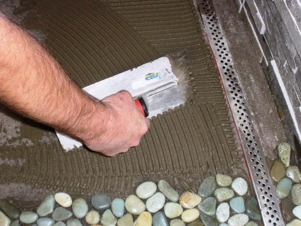Плитка из морских камней своими руками 12