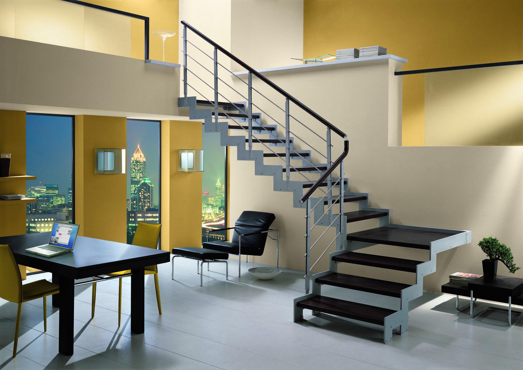 Стальная конструкция лестницы