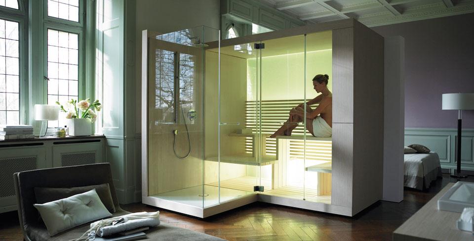 Сауна в квартире WIM Platte System