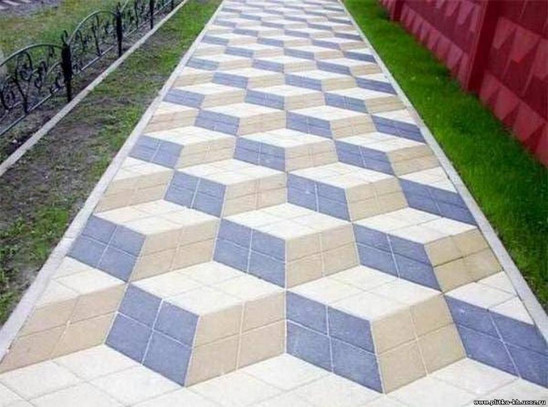 Цветная тротуарная плитка своими руками в домашних условиях