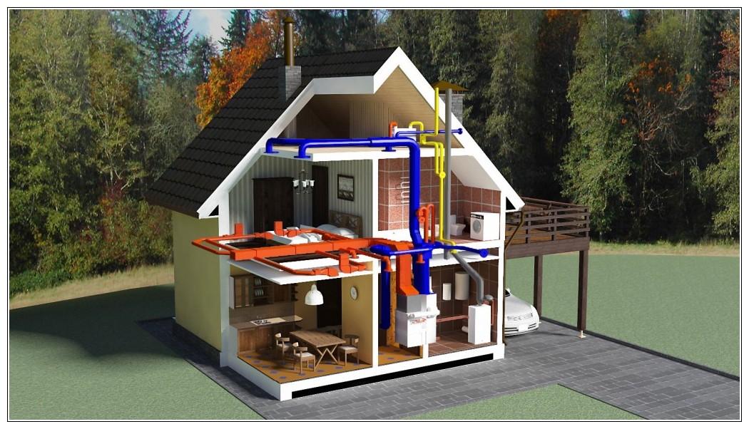 Отопление и вентиляция в доме
