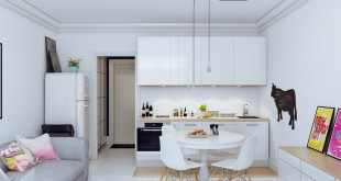 Дизайн маленькой квартиры студии