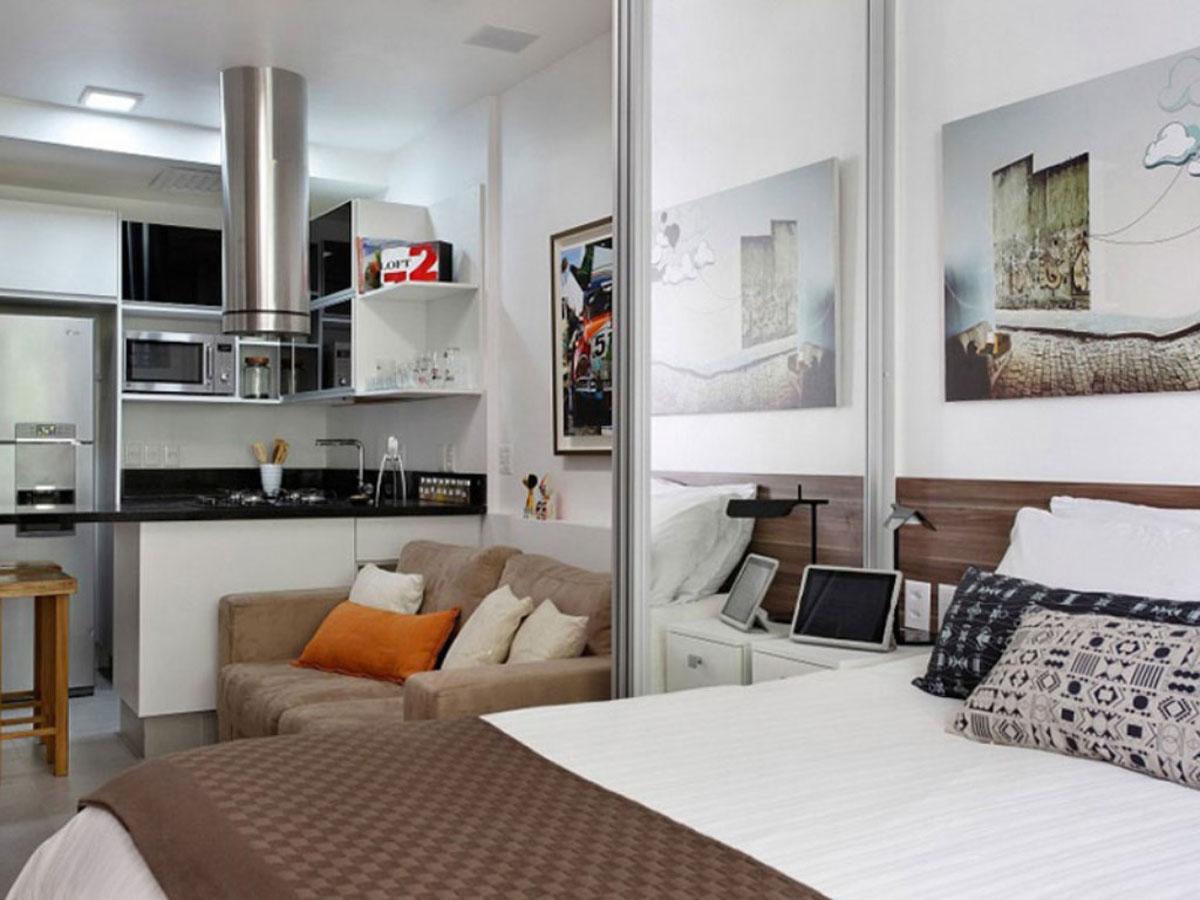 Дизайн квартир студий 27