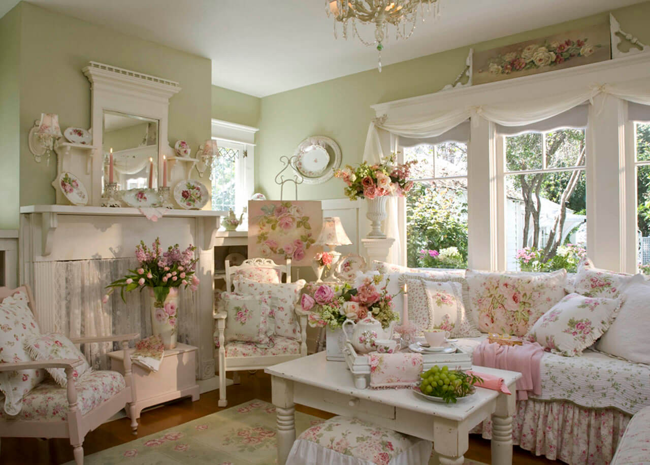 Мебель и интерьер в стиле кантри