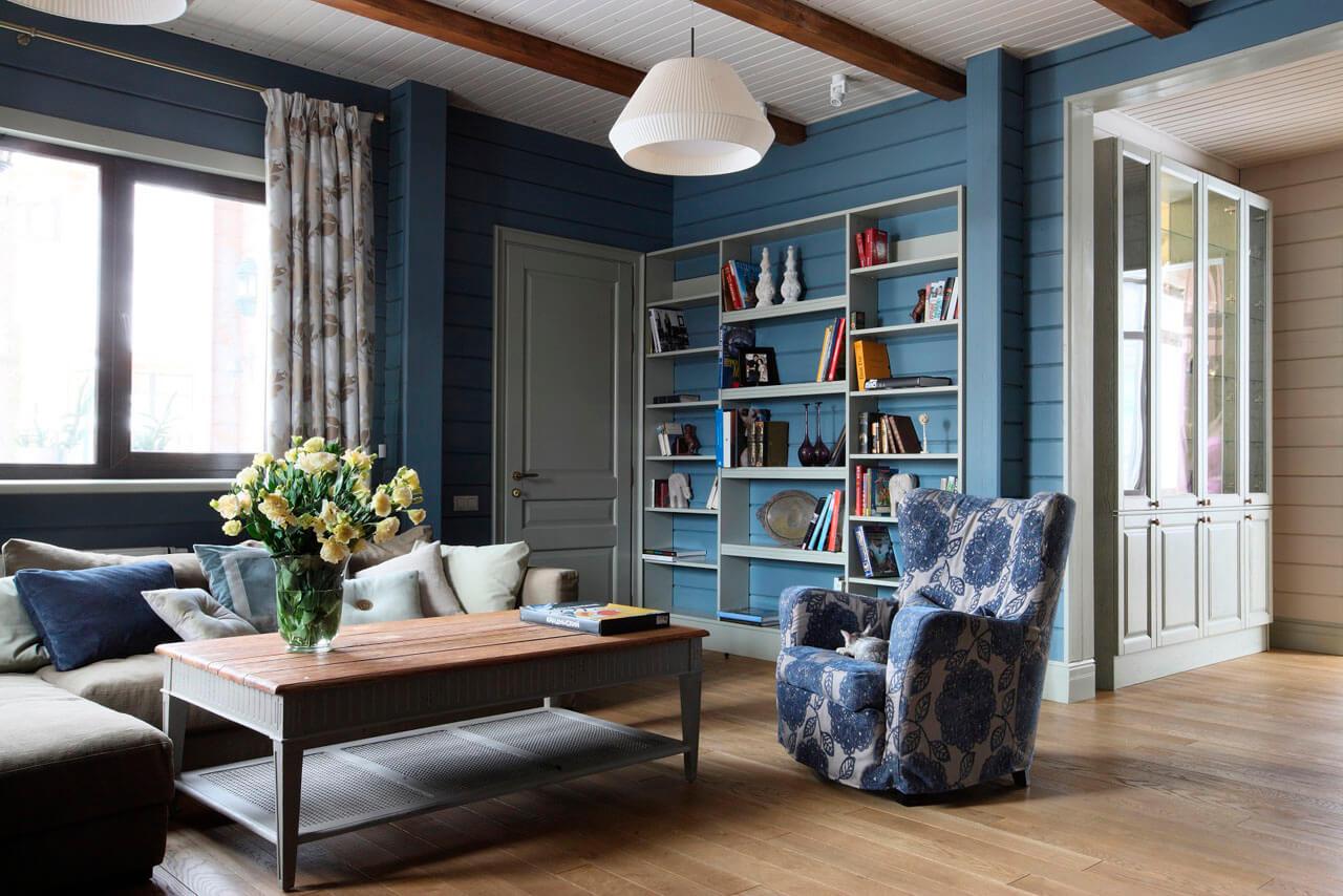 Интерьер мебели в стиле кантри
