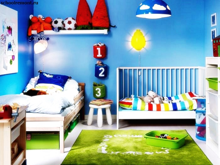 Обучающая комната для ребенка фото