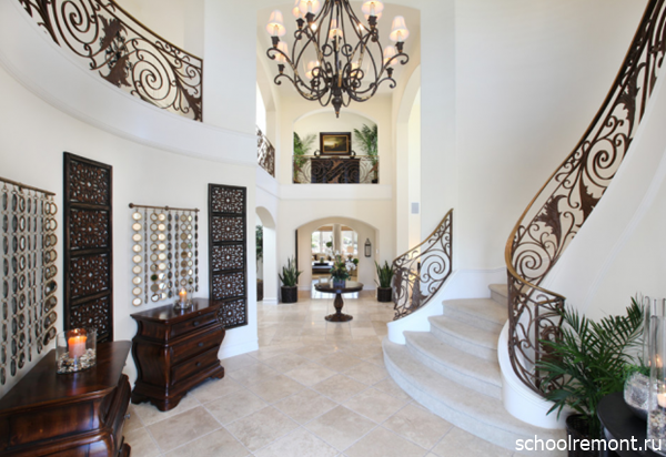 Роскошная кованная лестница