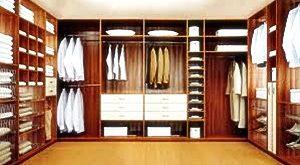 оформление гардеробной, гардероб