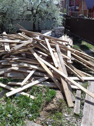 Эти дрова пойдут на бесплатное отопление дома
