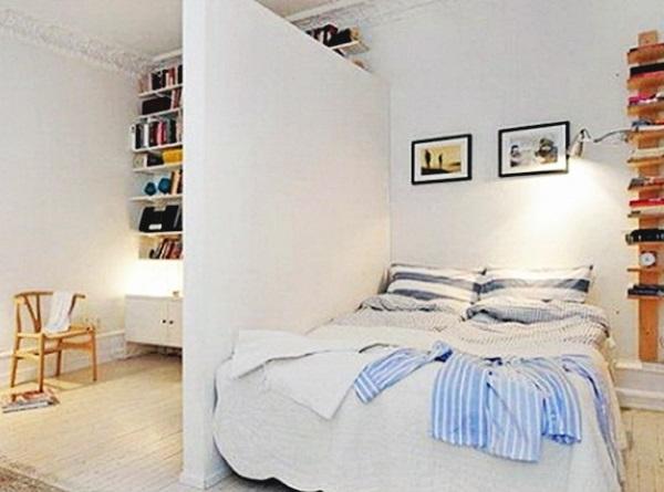 Фото спальни в белых тонах