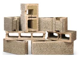 Пустотелые блоки арболит