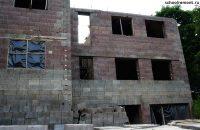 Трех этажный дом из арболита